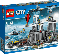 LEGO® City Police Więzienna Wyspa