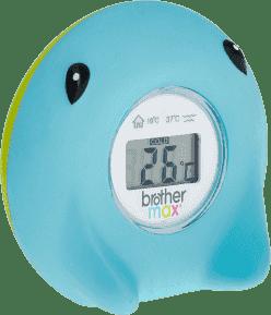 BROTHER MAX Cyfrowy termometr do wody i pomieszczeń