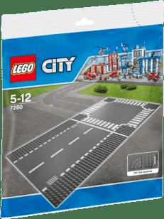 LEGO® City Supplementary Rovná cesta a križovatka