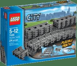LEGO® City Trains Elastyczne tory