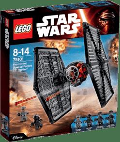 LEGO® Star Wars TM First Order Special Forces TIE fighter ™ (Stíhačka TIE špeciálnych jednotiek Prvé