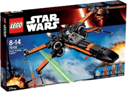 LEGO® Star Wars TM Poe 's X-Wing Fighter ™ (Poeova stíhačka X-Wing)