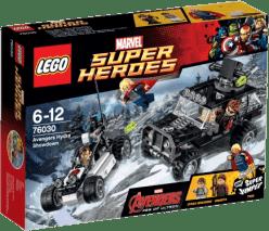 LEGO® Super Heroes Avengers: zúčtovanie s hydr