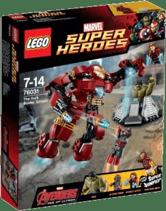 LEGO® Super Heroes Hulk Buster atakuje