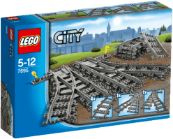 LEGO® City Trains Zwrotnica kolejowa