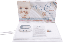 BABY Control Digital BC-210 - s dvomi senzorovými podložkami