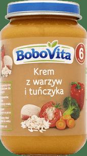 BOBOVITA Krem z warzyw i tuńczyka (190g)