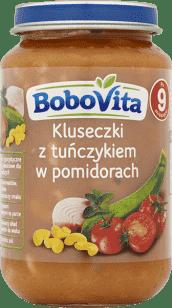 BOBOVITA Kluseczki z tuńczykiem w pomidorach (190g)