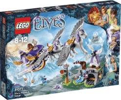 LEGO® Elves Aira a sane ťahané Pegas
