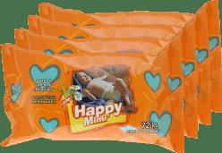 4x HAPPY MIMI Detské vlhčené obrúsky 72 ks