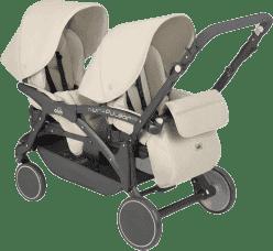 CAM Wózek Twin Pulsar – Beżowy