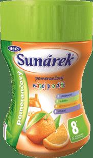 SUNÁREK rozpustný nápoj pomarančový - dóza 200g