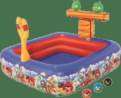 BESTWAY Nafukovacie hracie centrum Angry birds s bazénom 147 x 147 x 91cm