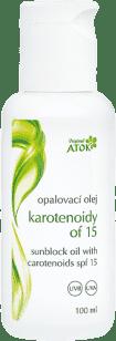 ATOK Opalovací olej Karotenoidy OF15 100 ml