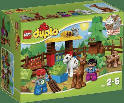 LEGO® DUPLO® Lesní zvířátka