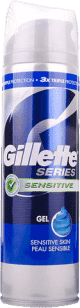 GILLETTE Series Sensitive pena na holenie 250ml (Premium klub)