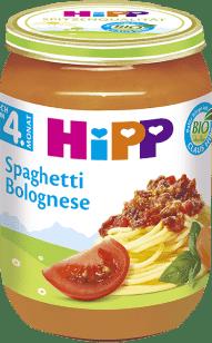 HIPP BIO Špagety v bolonskej omáčke 190g