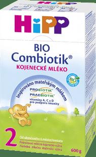 HIPP 2 BIO Combiotik (600g) - následná mliečna dojčenská výživa