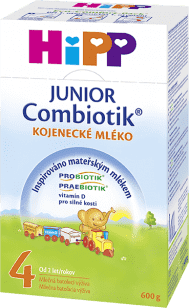 HIPP 4 JUNIOR Combiotik (600g) - následná mliečna dojčenská výživa