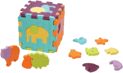 LUDI Puzzle penové so zvieratkami do vane