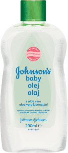 JOHNSON'S BABY Łagodna oliwka z aloesem 200ml