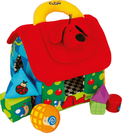 K's Kids duży kolorowy domek Patrick do rozróżniania figur