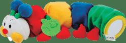 K´S KIDS Stonožka s kusátkom na prerezávanie prvých zúbkov, 48 cm dlhá