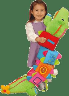K´S KIDS Krokodíl KrokoBloko, viacúčelová hračka