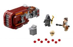 LEGO® Star Wars TM Rey's Speeder™ (Reyin speeder)