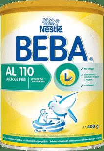 NESTLÉ Beba AL 110 mliečna výživa 400g