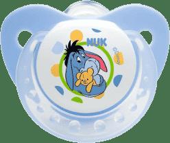 NUK Smoczek Disney (silikon), 6-18 miesięcy – niebieski