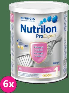 6x NUTRILON 1 ProExpert HA (800g) - kojenecké mléko