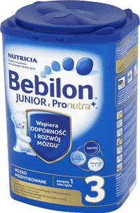 BEBILON Junior 3 z Pronutra+ dla dzieci po 12. miesiącu (800g)