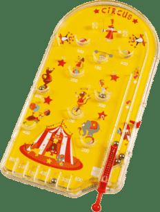 SCRATCH Detská hra Pinball cirkus