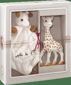 VULLI Môj prvý darčekový set žirafa Sophie a mazlík