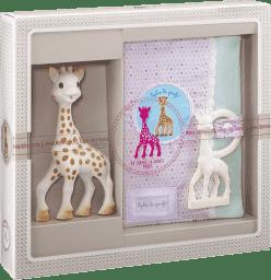VULLI Môj prvý darčekový set žirafa Sophie, puzdro na hryzátko
