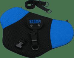 SCAMP Bezpečnostný pás pre tehotné - Čierno / modrý