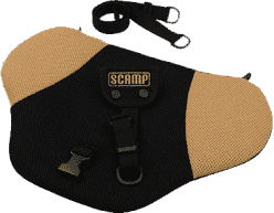 SCAMP Pas bezpieczeństwa dla kobiet w ciąży – Czarno-beżowy