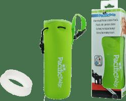 PACIFIC BABY Termoopakowanie + osłona butelki Zielony