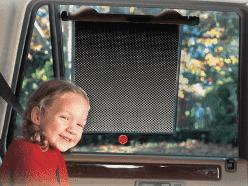 LINDAM Roleta przeciwsłoneczna do auta White Hot Safety 1 szt