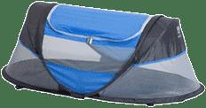 DERYAN Sunny Babybox łóżeczko turystyczne – niebieskie