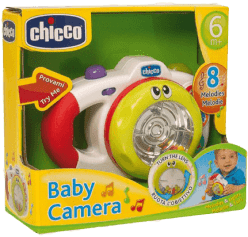 CHICCO Fotoaparát 8 melodií