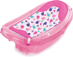 SUMMER INFANT Wanienka do kąpieli Sparkle ´n Splash różowa