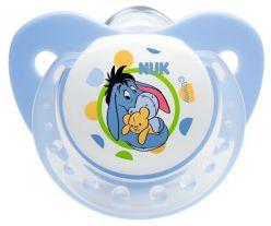 NUK Smoczek Disney (silikon), 0-6 miesięcy – niebieski