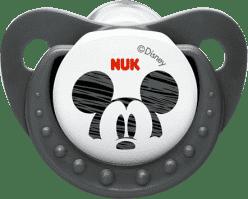 NUK šedý Cumlík Trendline DISNEY-Mickey, silikon, veľkosť 2 (6-18m.)