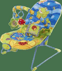 SUN BABY Detské ležadlo - Happy frog