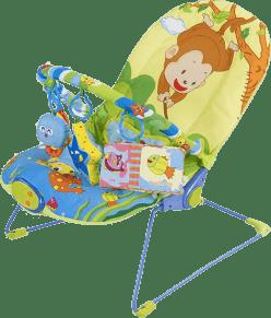 SUN BABY Dětské lehátko – Monkey
