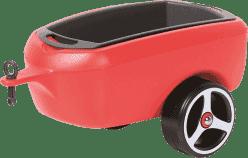 BRUMEE Przyczepka do jeździka BRUMEE CAREE czerwona
