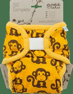 PETIT LULU SIO complete – żółte małpki