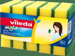 VILEDA Style Tip Top houbička (5 ks)
